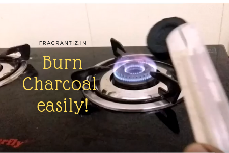 How to burn charcoal easily for the use of bakhoor or agarwood